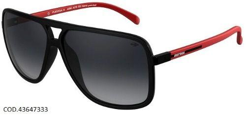 Óculos Solar Mormaii Flexxxa 2 43647333 Preto Brilho