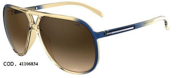Oculos Solar Mormaii Flexxxa 41106834 Bege Degrade Azul