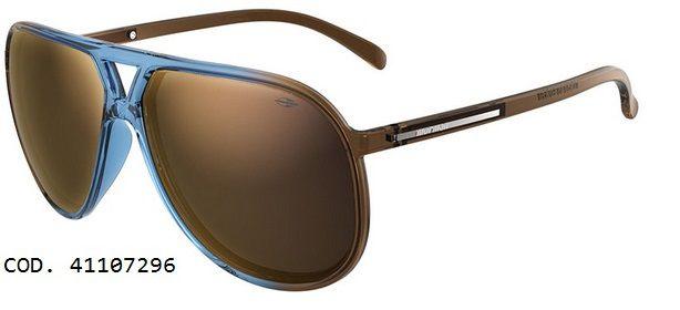Óculos Solar Mormaii Flexxxa 41107296 Azul Degradê Lente Marrom Espelhado