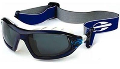 Óculos Solar Mormaii Floater  25152168 Azul e Branco  Lente Cinza Polarizada