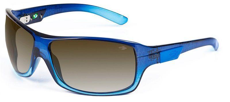 Óculos Solar Mormaii Galapagos 15476933 Azul Lente Degradê Cinza