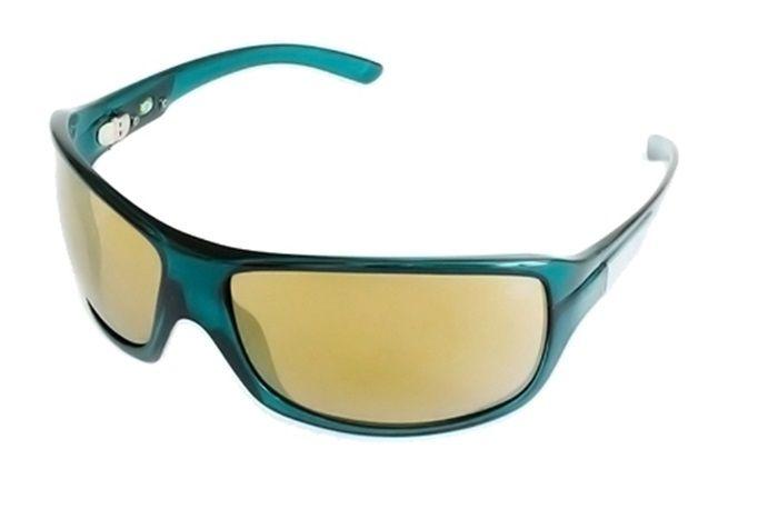 Óculos Solar Mormaii Galapagos 154k2381 Verde Translúcido Lente Dourada Espelhada