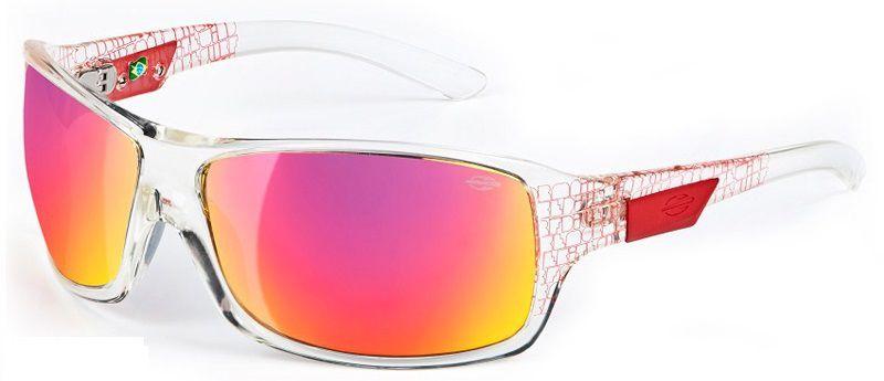Oculos Solar Mormaii Galapagos Cod. 15477211 Transparente Vermelho