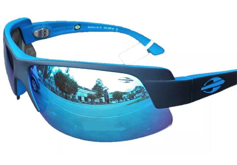 Oculos Solar Mormaii Gamboa Air 3 44103312 PRETO FOSCO AZUL