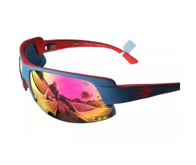 Oculos Solar Mormaii Gamboa Air 3 44103411 CINZA VERMELHO