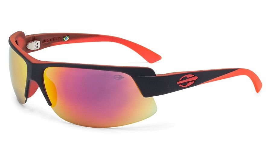 Oculos Solar Mormaii Gamboa Air 3 441AAG11 Preto Vermelho