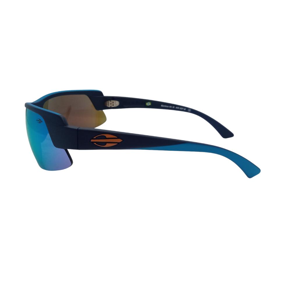 Óculos Solar Mormaii Gamboa Air 3 441k3712 Preto Lente Azul Espelhada