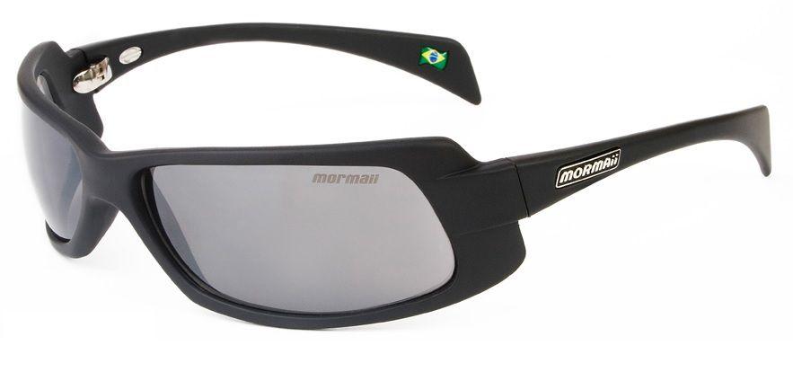 Oculos Solar Mormaii Gamboa Ro 2 27911701 Preto Fosco Lente Cinza