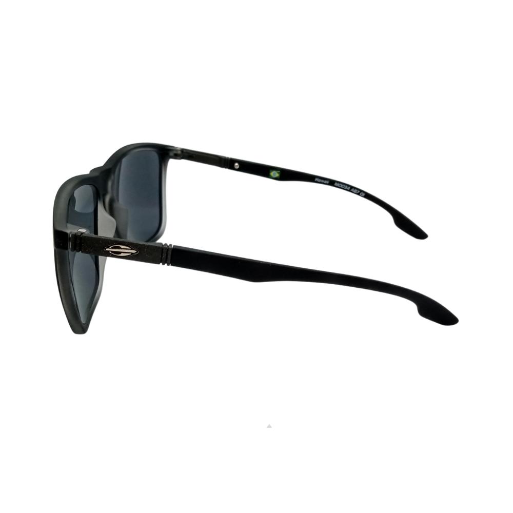 Óculos Solar Mormaii Hawaii M0034a8701 Preto Fosco Lente Cinza