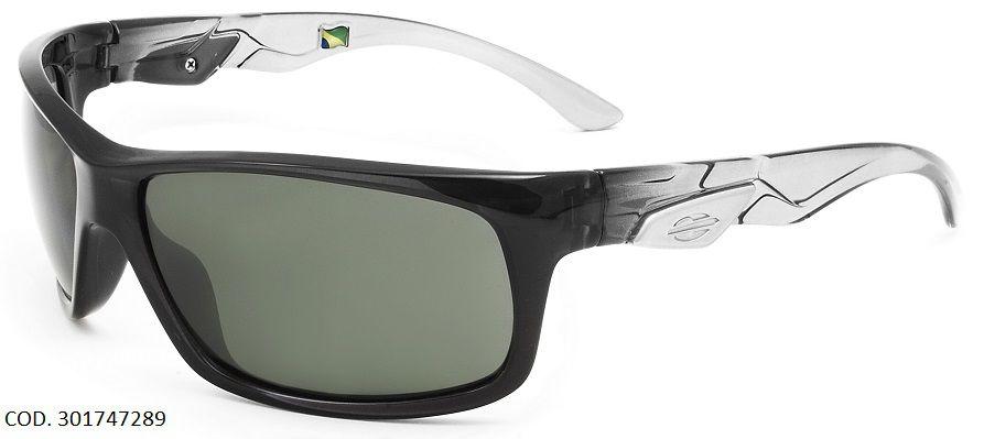 90695a91c0f07 Oculos Solar Mormaii Iguazu Polarizado Cod. 301747289 Preto Transparente