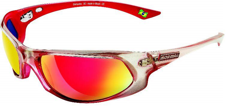 Óculos Solar Mormaii Itacaré 17164411 Vermelho Lente Vermelha