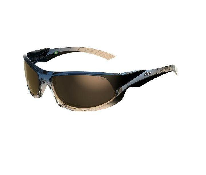 Óculos Solar Mormaii Itacaré 2 41205508 Marrom e Azul Lente Dourada Espelhada