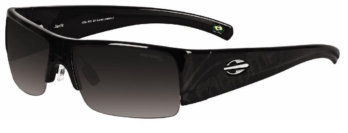 Oculos Solar Mormaii Jack Cod. 33521001 Preto Brilhoso