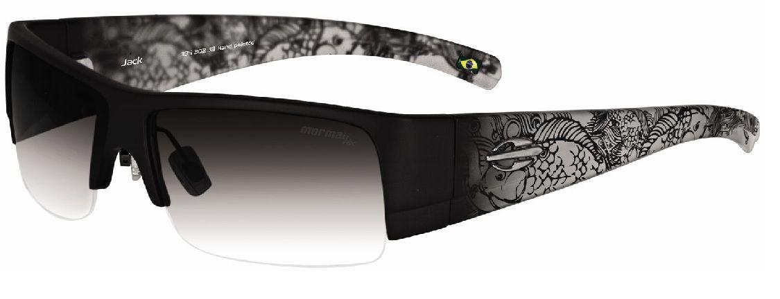 Oculos Solar Mormaii Jack Cod. 33530233 Preto Transparente