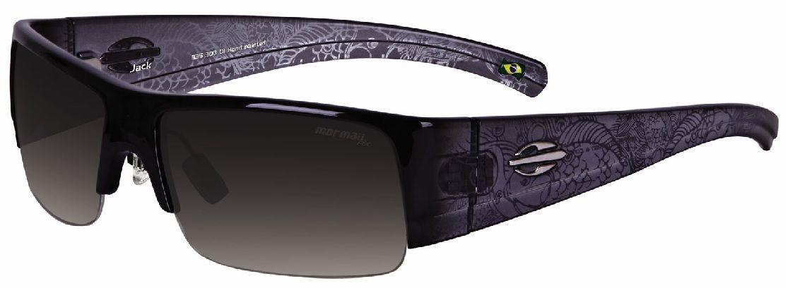 Oculos Solar Mormaii Jack Cod. 33530301 Preto Degradê Fumê