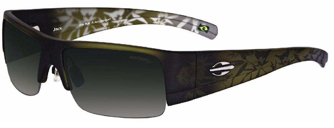 Oculos Sol Mormaii Jack 33530671 Verde Translucido Lente Verde