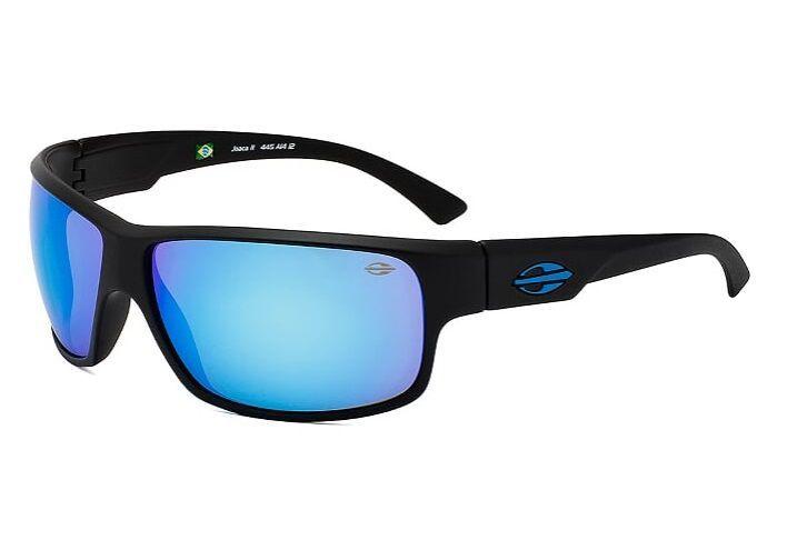 Oculos Solar Mormaii Joaca 2 Cod. 445A1412 - Preto Fosco/Azul