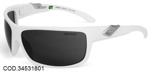 Óculos Solar Mormaii Joaca 34531801 Branco Lente Cinza