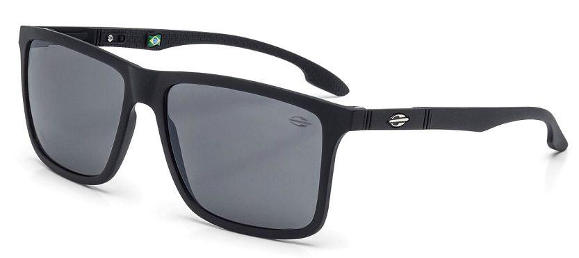 Oculos Solar Mormaii Kona M0036A1409 Preto Fosco - Cinza Flash