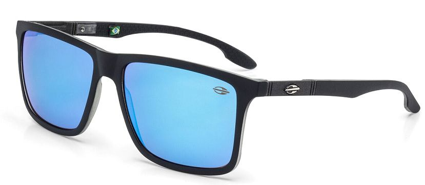 Oculos Solar Mormaii Kona M0036A8797 Preto Fosco Azul