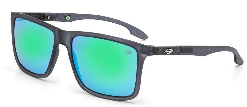 Oculos Solar Mormaii Kona M0036D2285 Fume Fosco Verde