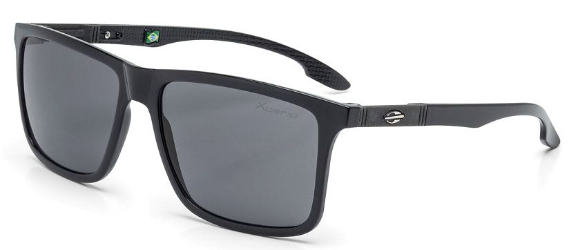 Oculos Solar Mormaii Kona Xperio Polarizado M0036A0203 Preto Brilho