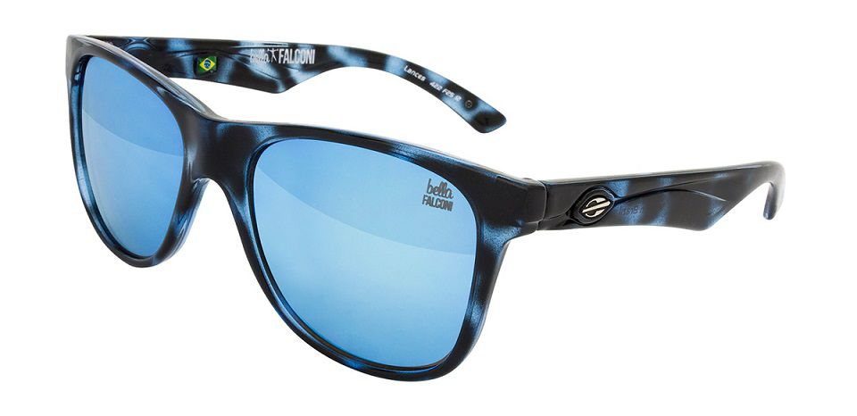 Oculos Solar Mormaii Lances - Cod. 422F2512 - Azul Rajado - Lente Azul Flash