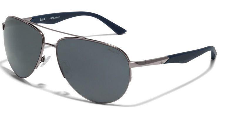 Oculos Solar Mormaii Lira Xperio Polarizado 39252803 Prata Azul