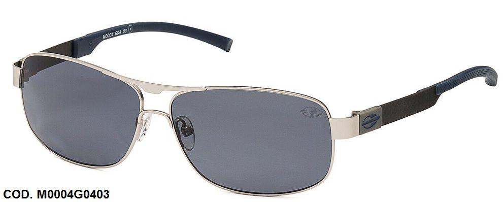 Oculos Solar Mormaii M0004G0403 FIBRA CARBONO Polarizado Prata