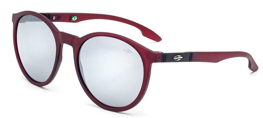 Oculos Solar Mormaii Maui M0035C1209 Vermelho Translucido