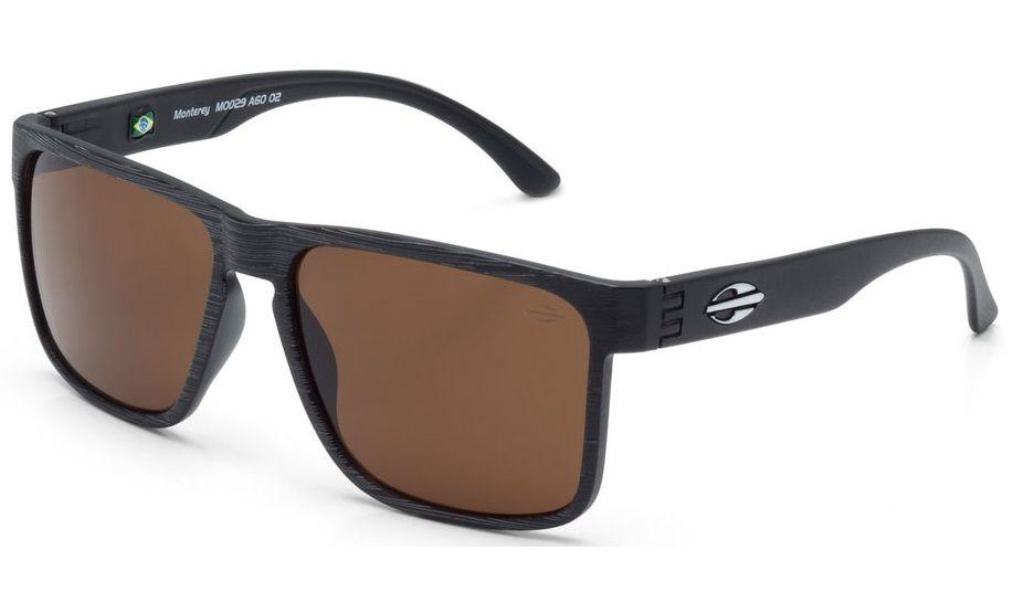 Oculos Solar Mormaii Monterey M0029a6002 - Marrom - Lente Marron