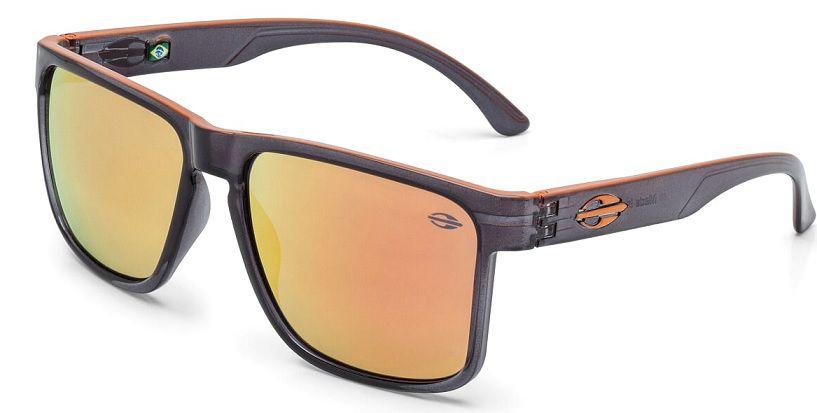 Oculos Solar Mormaii Monterey M0029D7091 Fumê Laranja - Lente Laranja Espelhado