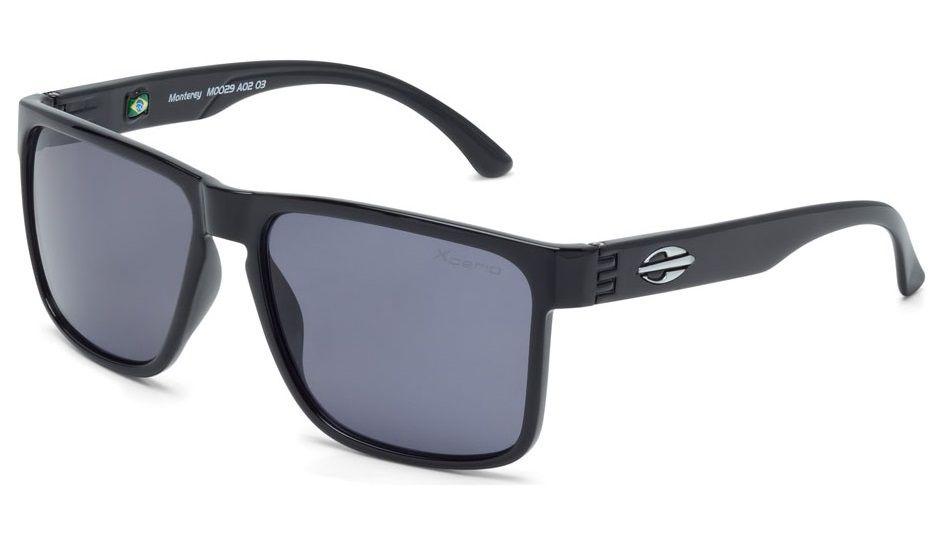 Oculos Solar Mormaii Monterey Xperio M0029a0203 - Preto - Lente Cinza Polarizado