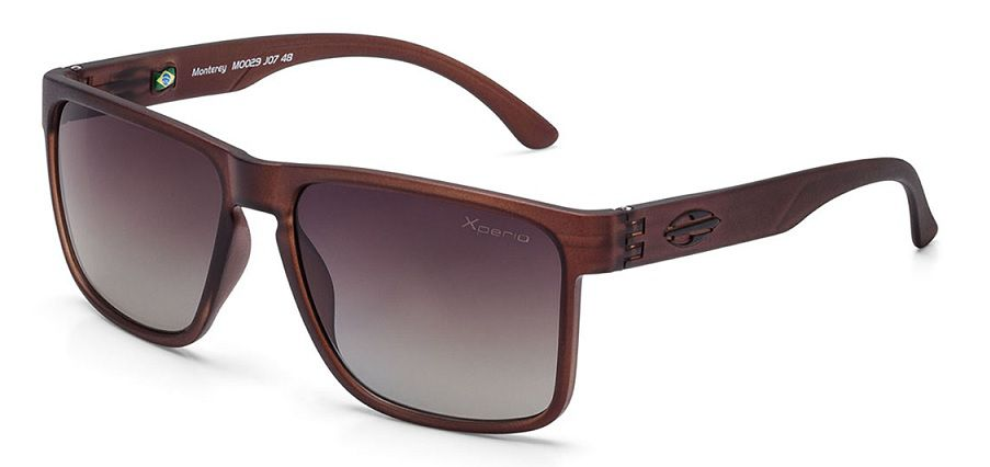 Oculos Solar Mormaii Monterey Xperio Polarizado M0029J0748 Marrom Degradê