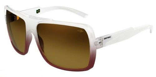 Oculos Solar Mormaii Prainha 2 - Cod. 41907834 Transparente/roxo - Lente Marrom Degradê