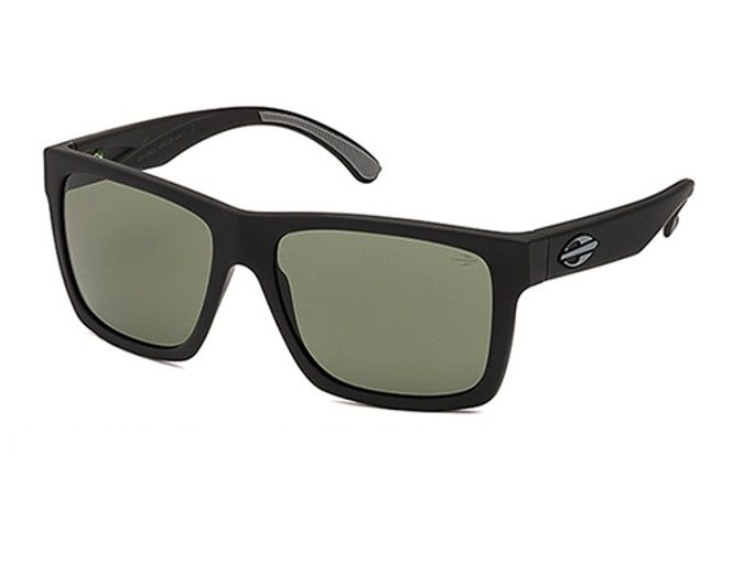 Oculos Solar Mormaii San Diego - Cod. M0009a1471 -  Preto Fosco - Lente Verde