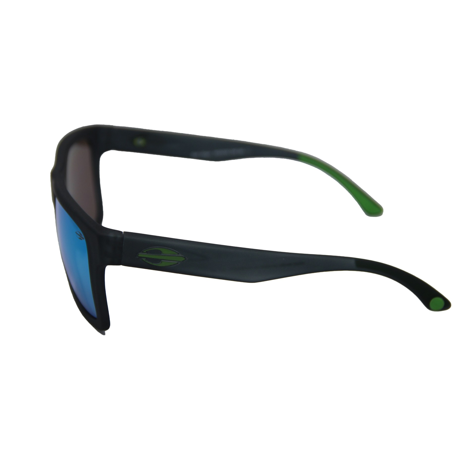 Oculos Solar Mormaii San Diego - Cod. M0009d1985 - Cinza/verde - Lente Verde ESPELHADO