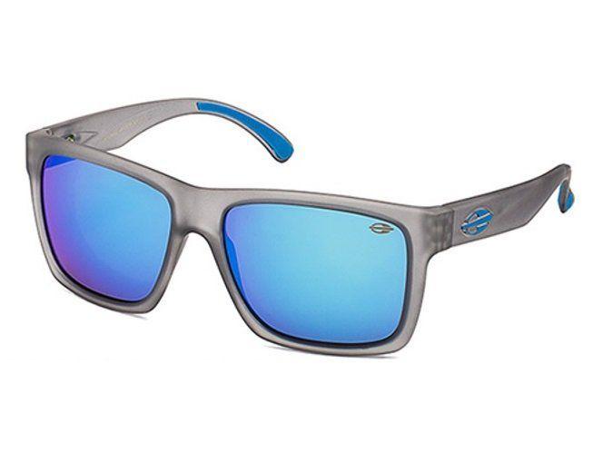 f5e4637a7 Oculos Solar Mormaii San Diego - Cod. M0009d2097 - Cinza Translucido / Azul  - Lente Azul