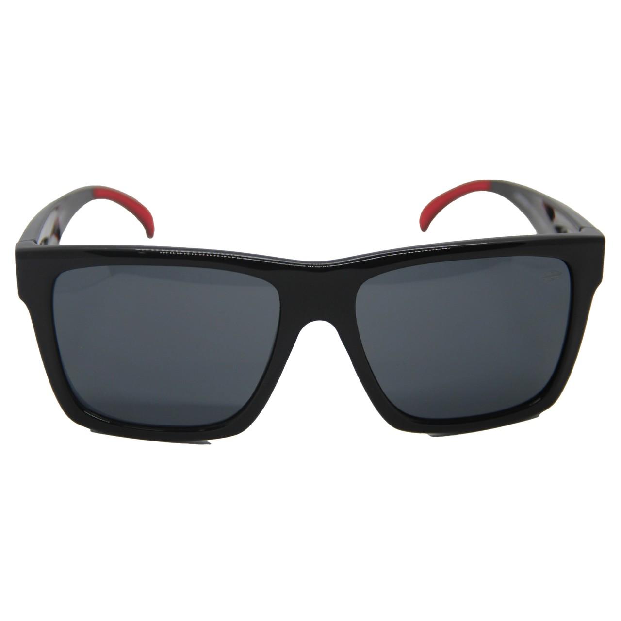 Oculos Solar Mormaii San Diego M0009a0201- Preto/Vermelho - Lente Cinza