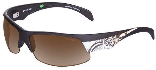 Oculos Sol Mormaii Street Air 35041202 Marrom Fosco Lente Marrom