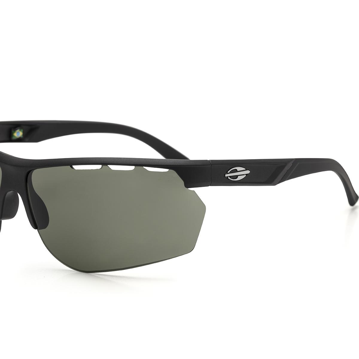 Óculos Solar Mormaii Thunder m0078 a1471  67 Preto Lente Verde Convencional