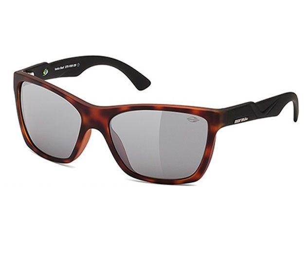 Oculos Solar Mormaii Venice Beat 379f0909 Marrom Lente Cinza Espelhada