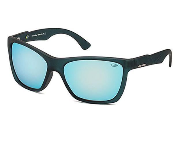Oculos Sol Mormaii Venice Beat 37910912 Azul Fosco Lente Azul Espelhada