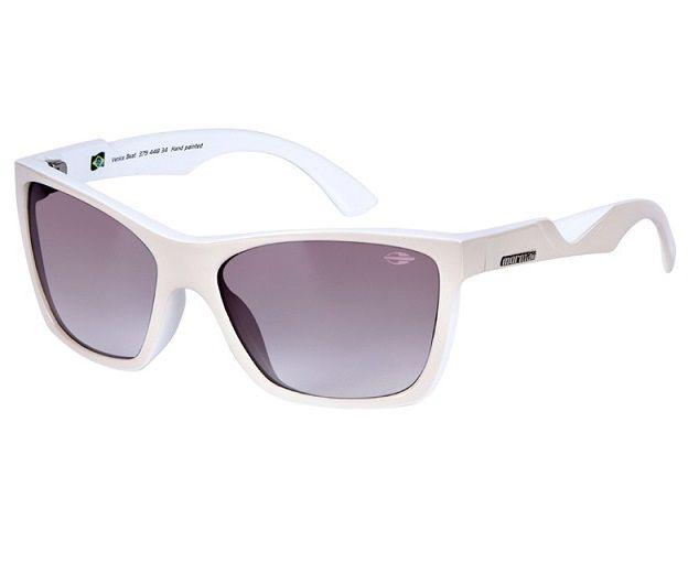 Oculos Solar Mormaii Venice Beat 37944834 Bege Lente Marrom Degradê