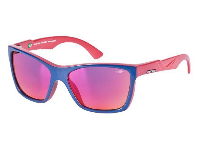 Oculos Solar Mormaii Venice Beat 37946211 Roxo Lente Vermelha Espelhada