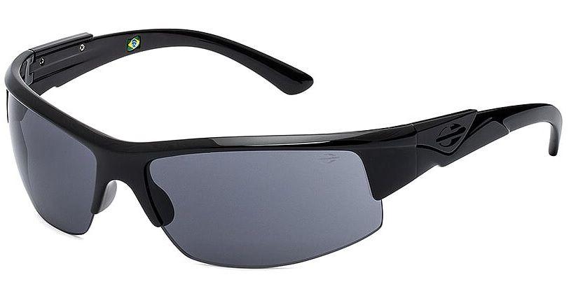 Oculos Sol Mormaii Wave 44904001 Preto Brilho Lente Cinza