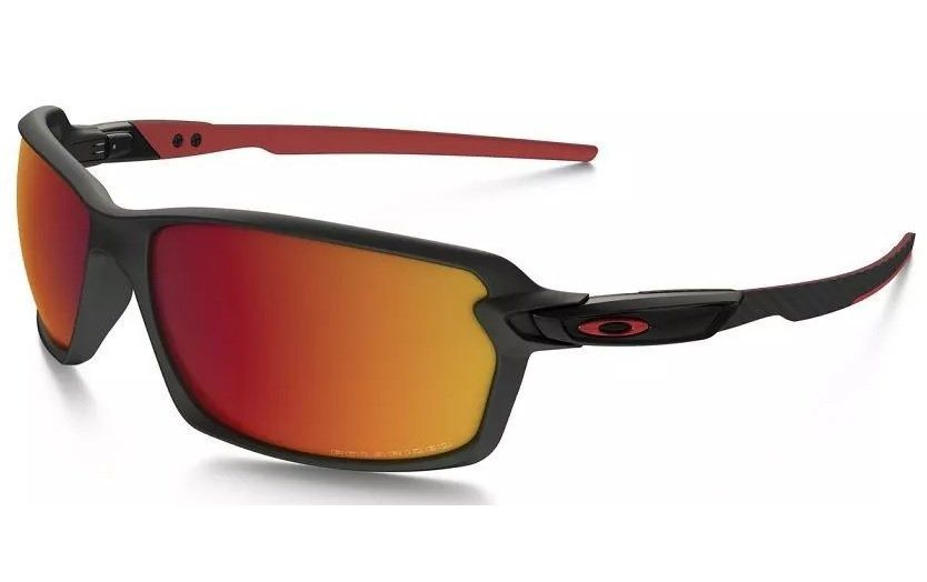 Oculos Solar Oakley Carbon Shift Matte Black Torch Iridium Polarizado 930204
