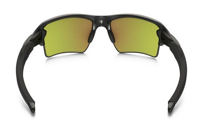 Oculos Solar Oakley Flak 2.0 XL MATTE GREY SMOKE FIRE IRIDIUM POLARIZED 918810