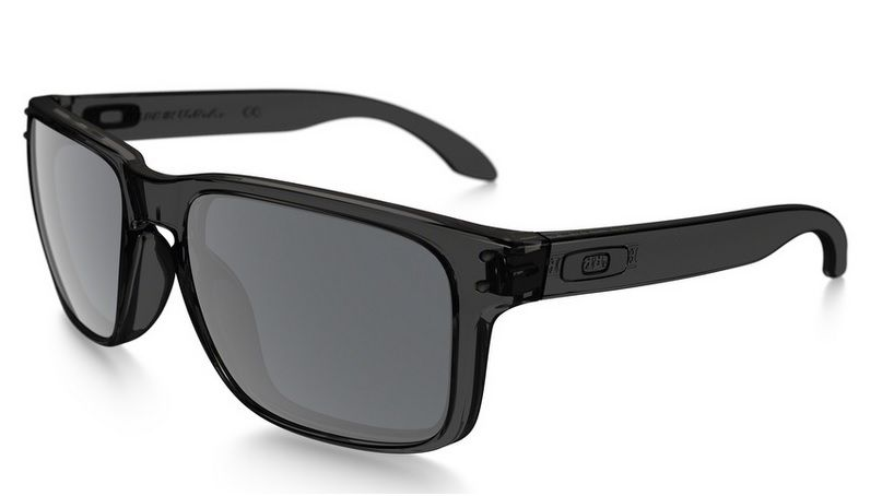 Oculos Solar Oakley Holbrook Grey Smoke Black Iridium 910224 55
