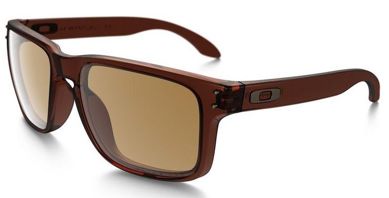 b48e833b58130 Oculos Solar Oakley Holbrook Matte Rootbeer Bronze Polar Polarizado 910203  55